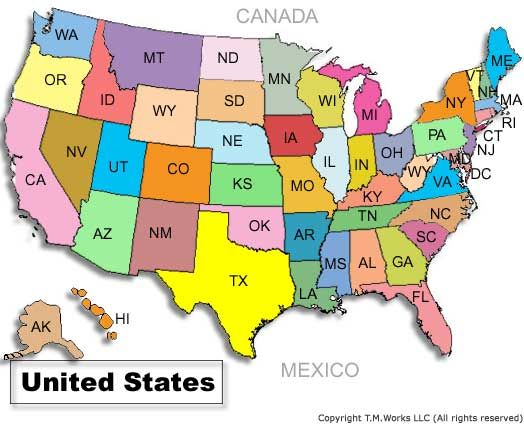 Visit All 50 States Things To Do Pinterest