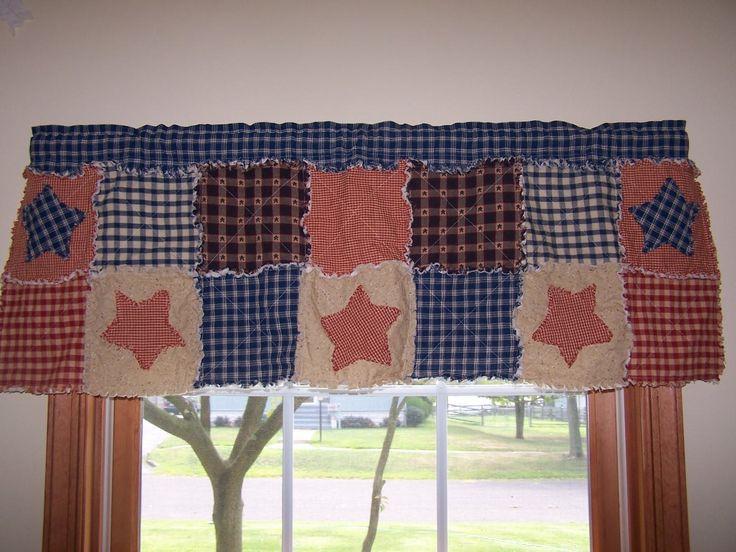 Rag Quilt Curtains