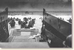 d day landing pictures then and now
