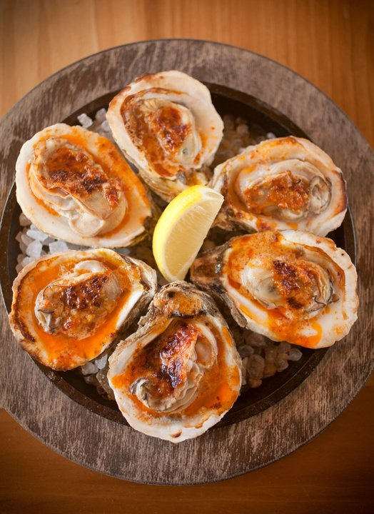 Roasted Oysters Recipe — Dishmaps