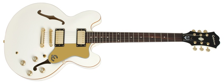 Epiphone Limited Edition Dot Royale Pearl White