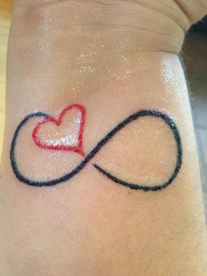 Infinity Heart Tattoo Tattoos Piercings Etc Pinterest