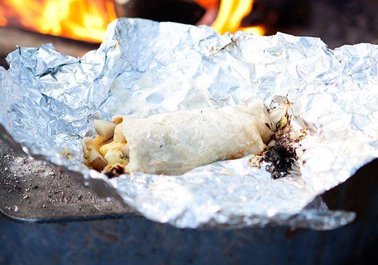 how to: make a campfire breakfast burrito | Café Zupas