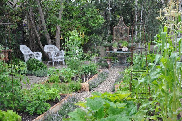 Country vegetable garden beautiful vegetable gardens for Beautiful small vegetable gardens