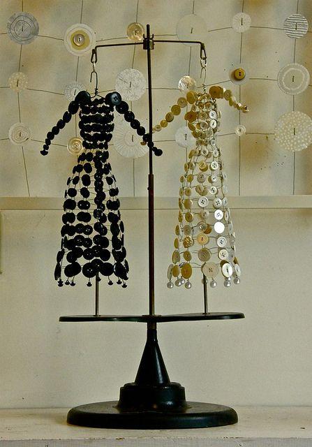 Античный кнопка платья от colormuse, через Flickr