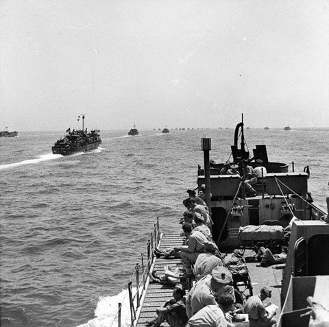 british d day landing craft