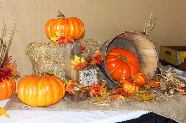 rustic fall wedding decorations