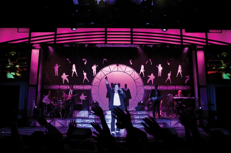 World class entertainment, including Legends In Concert on board Norwegian Epic
