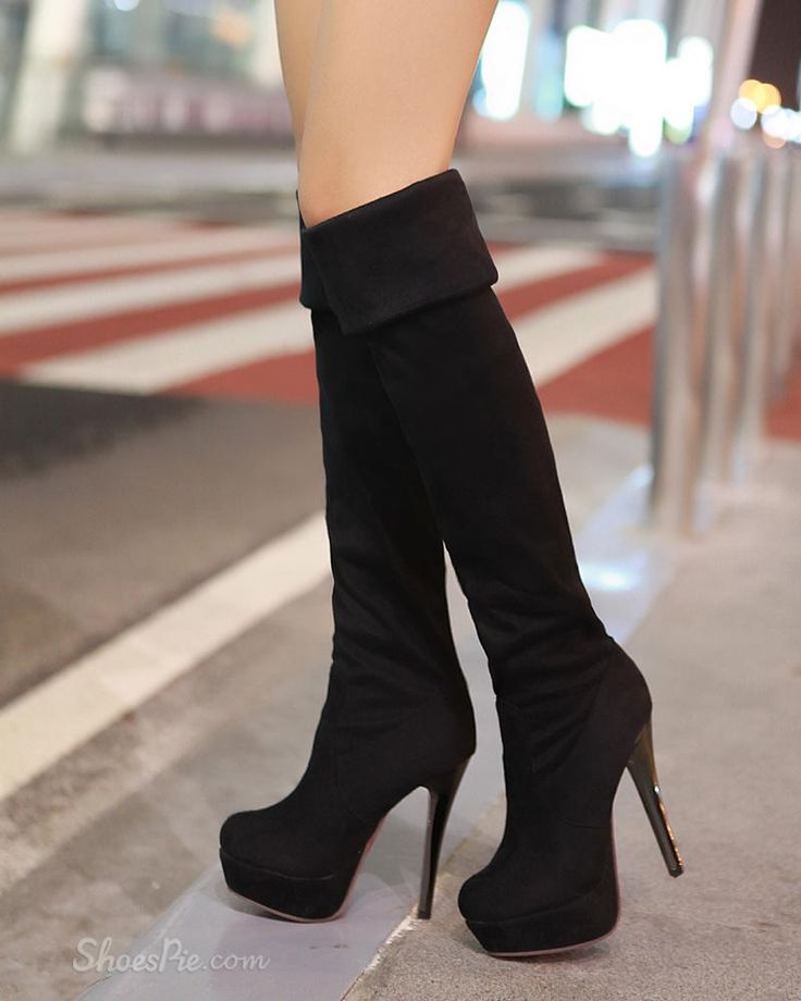 knee high heels boots i ll walk all you