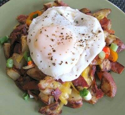 Breakfast skillet | Food and Drinks | Pinterest