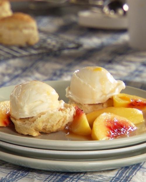 Peach Shortcake - Martha Stewart Recipes