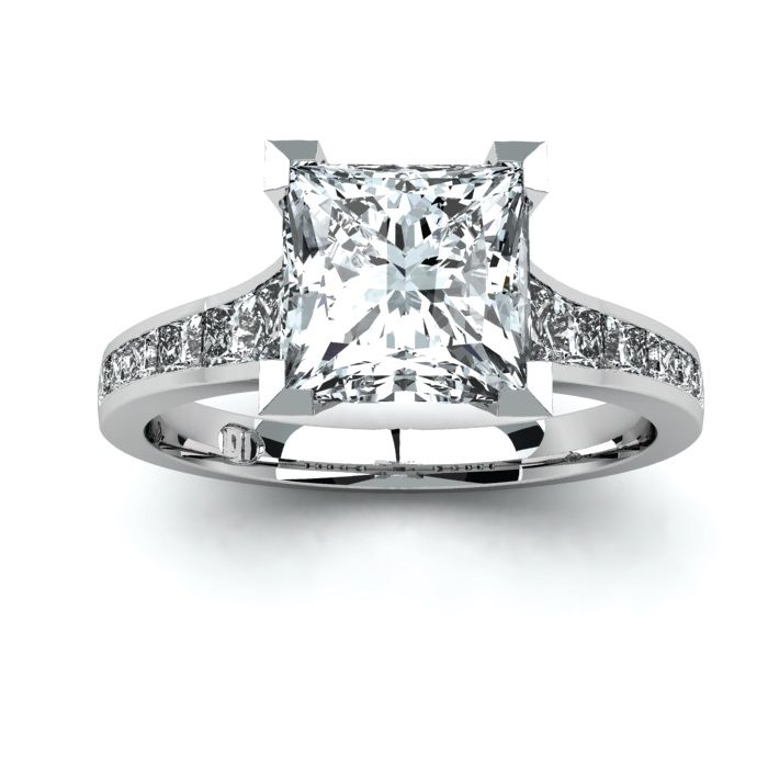Princess Cut diamond engagement ring by Diamonds International ...