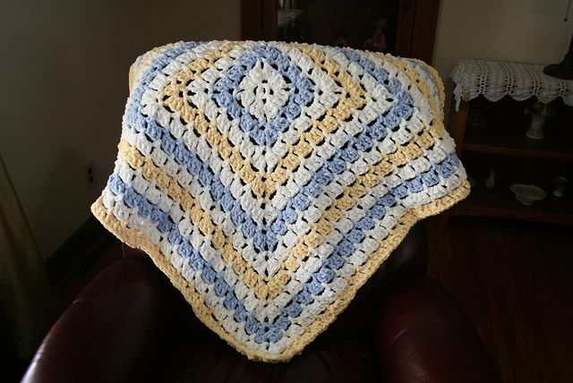 Crochet Patterns For Baby Blankets With Bulky Yarn : super bulky baby blanket Things to Crochet Pinterest