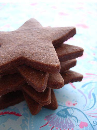 Brownie roll-out cookies / Brownies em forma de cookies by Patricia ...