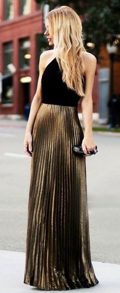 Pleated Skirt Styles | Dresses | Pinterest