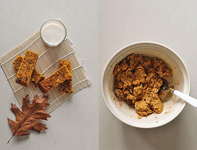 Healthier Pumpkin Flapjack Bar — Food Recipes HQ