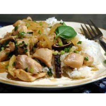 Thai Chicken with Basil Stir Fry   Favorite Recipes   Pinterest