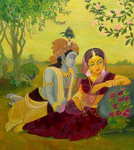 love for krishna