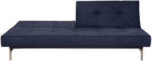 Crash pad divided sofa/bed - navy felt | Homescaping | Pinterest