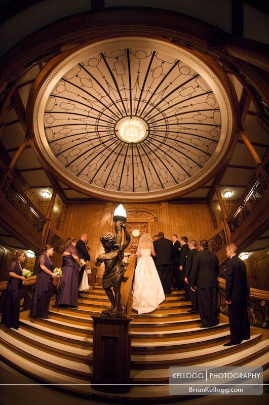 Titanic wedding