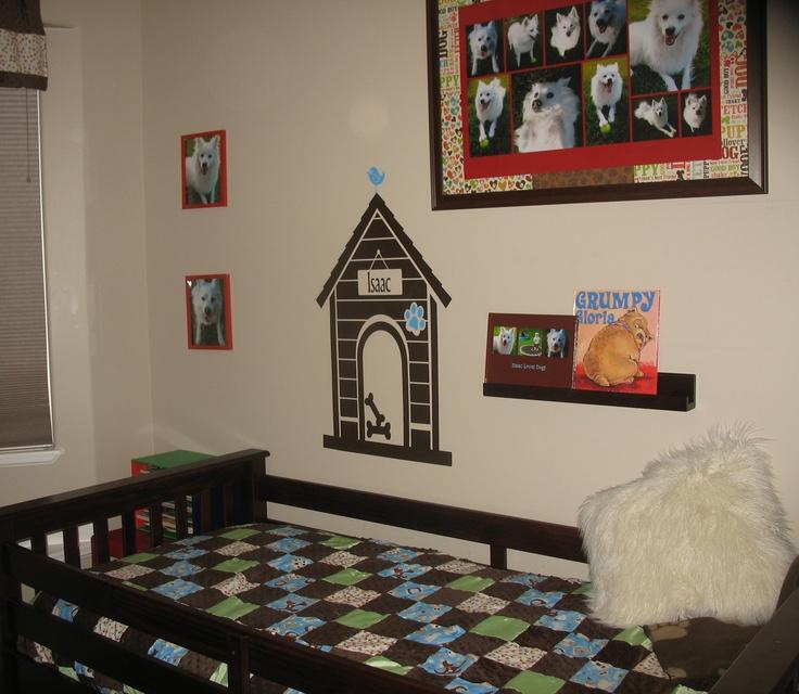 Dog themed bedroom doggy decor pinterest for Dog themed bedroom ideas