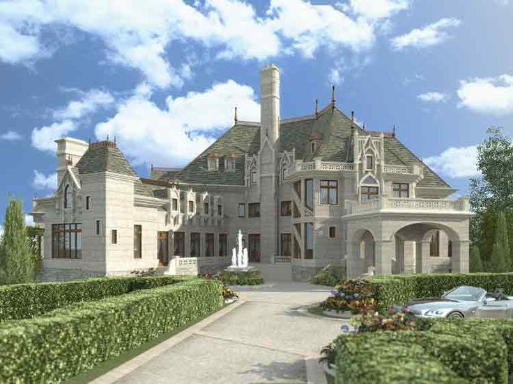 Chateau Novella House Plan 6039 Architecture Castles
