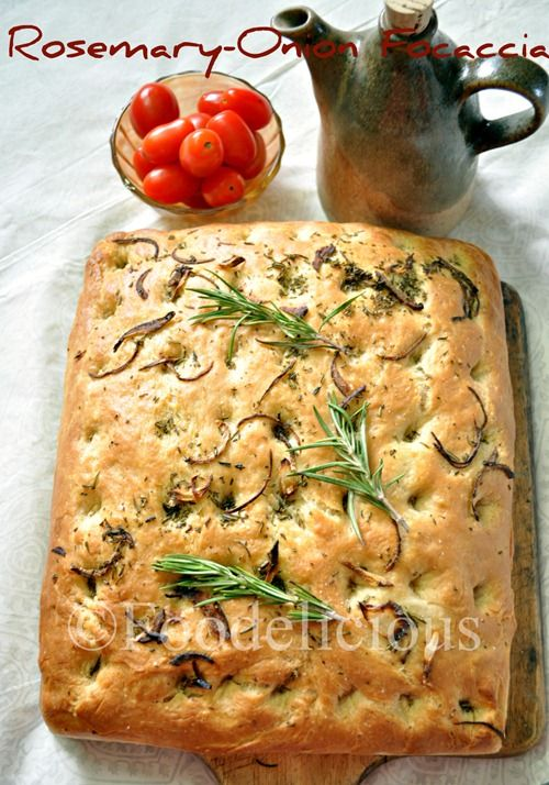 More like this: focaccia , rosemary and onions .