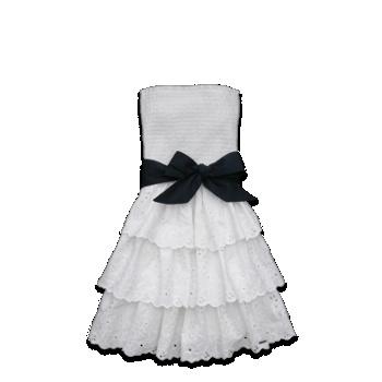 Brooks Street Dress-white