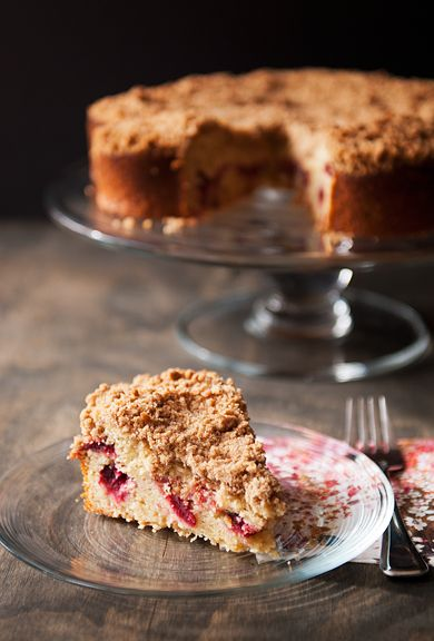 cranberry yogurt coffeecake recipe | use real butter