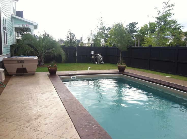 Pin by alaglas pools of charleston on our swimming pools for Nice inground pools