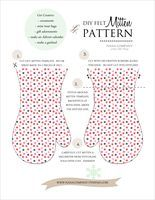 Free Holiday Mitten Ornament Pattern | Blog | Oliver + S