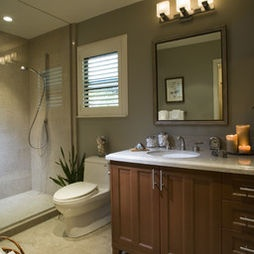 Bathroom like these warm colors for the home pinterest for Warm bathroom colors
