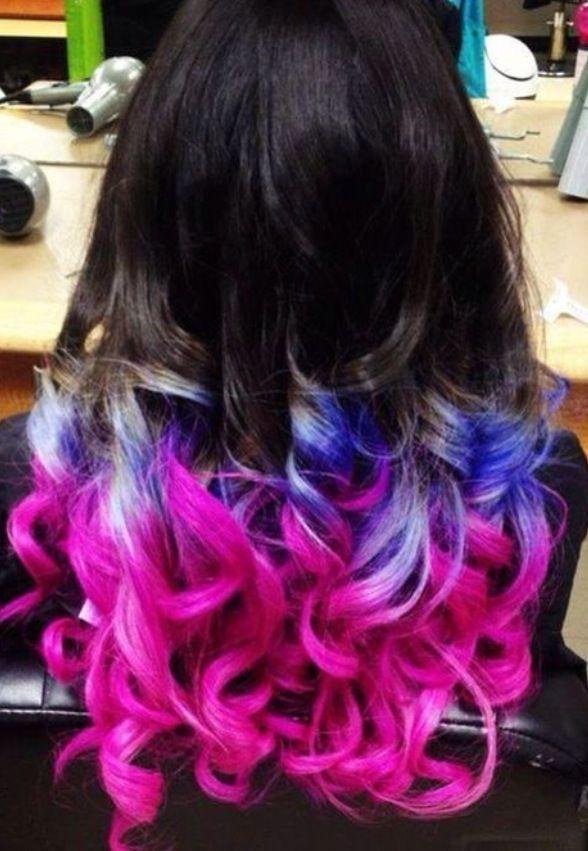 dip dye hair  Give me some hair  Pinterest
