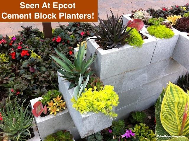 Cinder Block Wall Planter Unimaginably Unique Planters