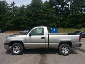 2001 chevrolet silverado 1500 weight