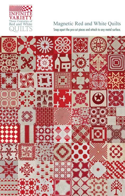 Red & White quilt.