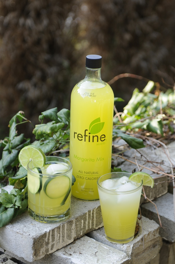 Cucumber Margarita | Refine Mixers | Pinterest