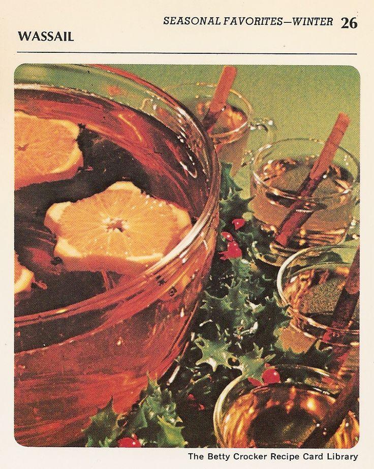 Winter Wassail Recipe — Dishmaps