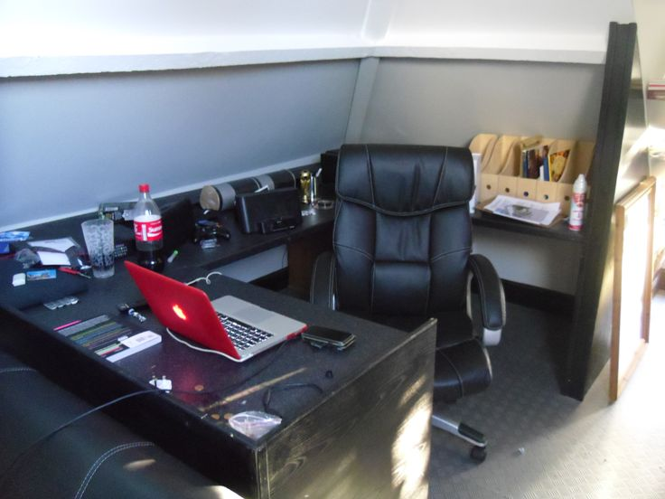 The man cave or my attic work station most of the work and