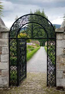 Walled Gardens. - Woodstock Gardens Kilkenny - Inistioge County Kilkenny Ireland