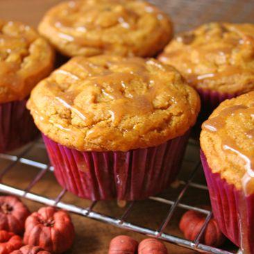 Gluten-Free, Vegan Pumpkin Chocolate Chip Cupcakes With Cinnamon