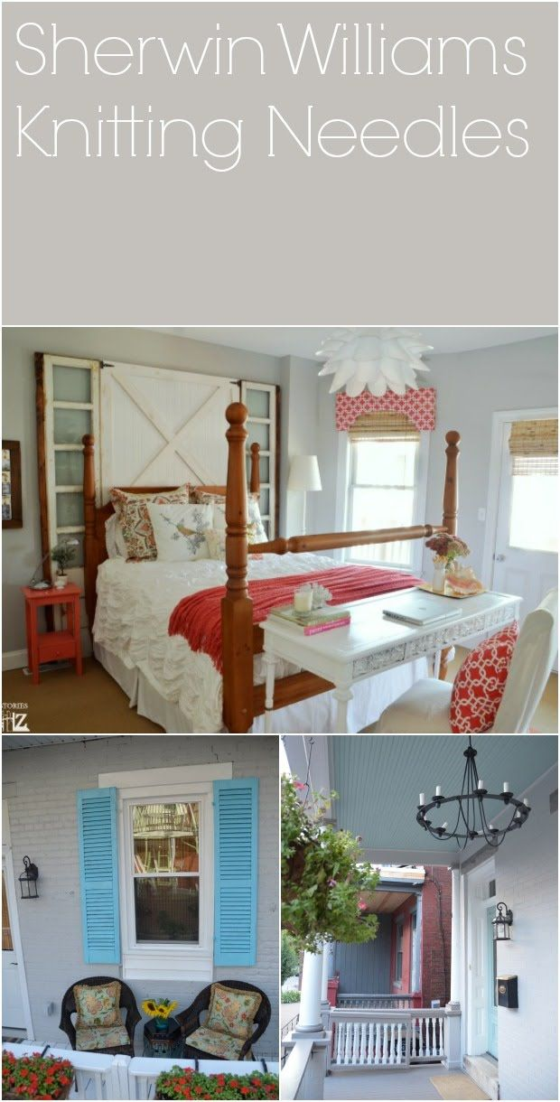 Knitting Needles Paint Kitchen : Gray paint color ideas tips and examples
