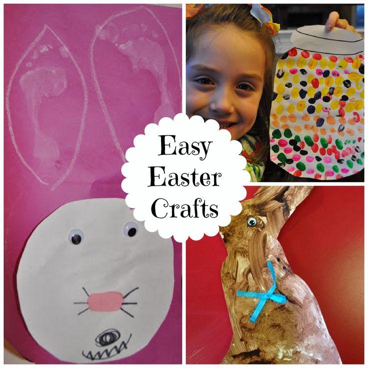 3 easy easter crafts for preschoolers easter pinterest for Easy easter crafts for kindergarten