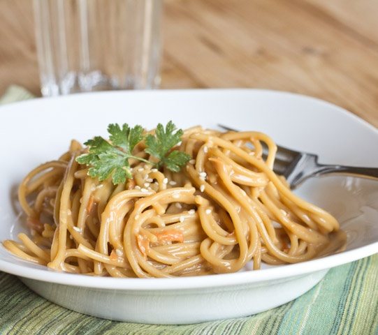 Asian Peanut Noodles | Dinners, Dishes, and Desserts