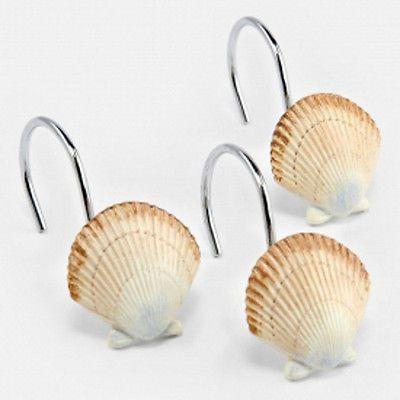 sarasota sea shells bathroom accessory set of 12 shell