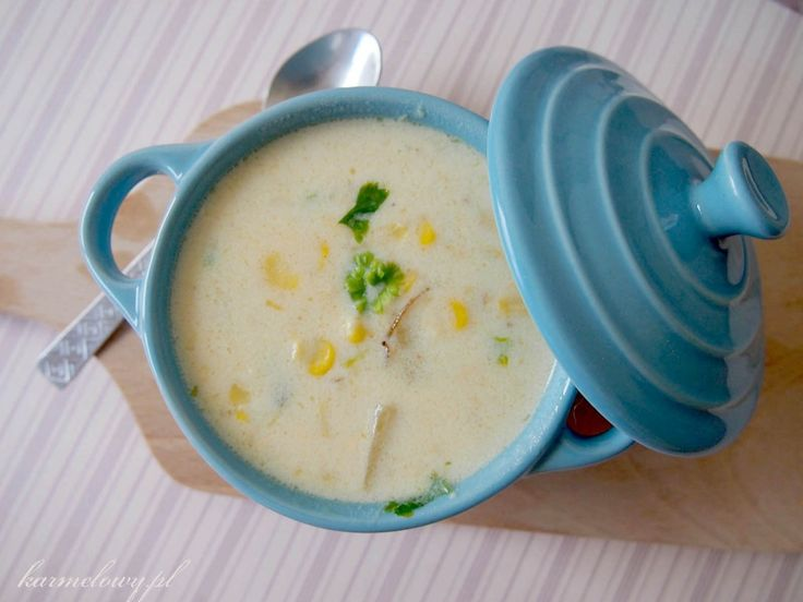 Corn and cheese chowder | A SOUP DISH | Pinterest