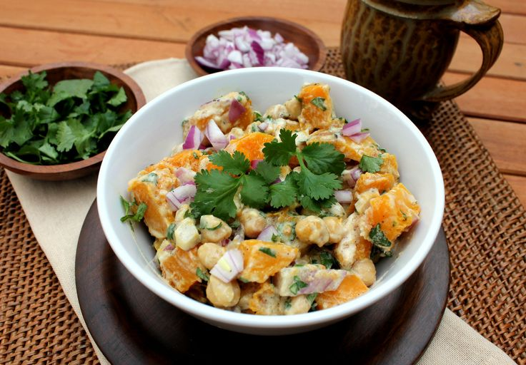 warm butternut squash and chickpea salad recipe key ingredient warm ...