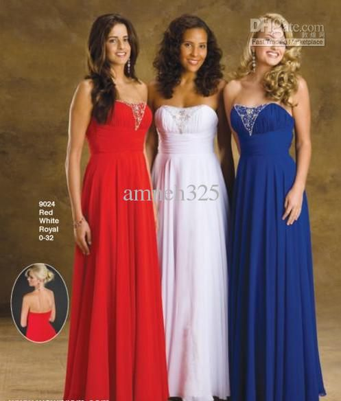 Blue And Red Wedding Dresses | Wedding Tips and Inspiration