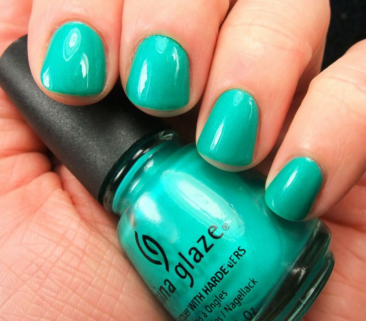 Turned Up Turquoise ( neon) by China Glaze... just added this to my ...