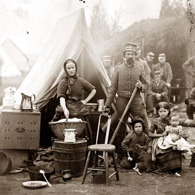 family life during civil war The large majority of civil war soldiers and range between 750,000 to 1 million soldiers fought during the civil war but camp life involved mostly endless.